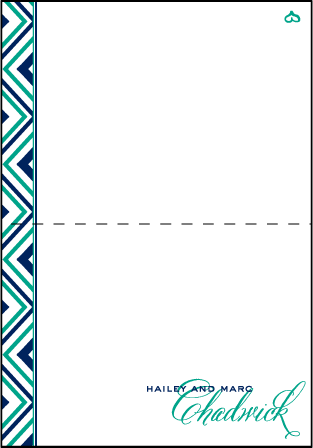 Hailey Modern Letterpress Thank You Card Fold Design Medium