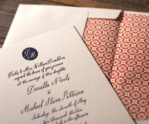 red-navy-wedding-invitations