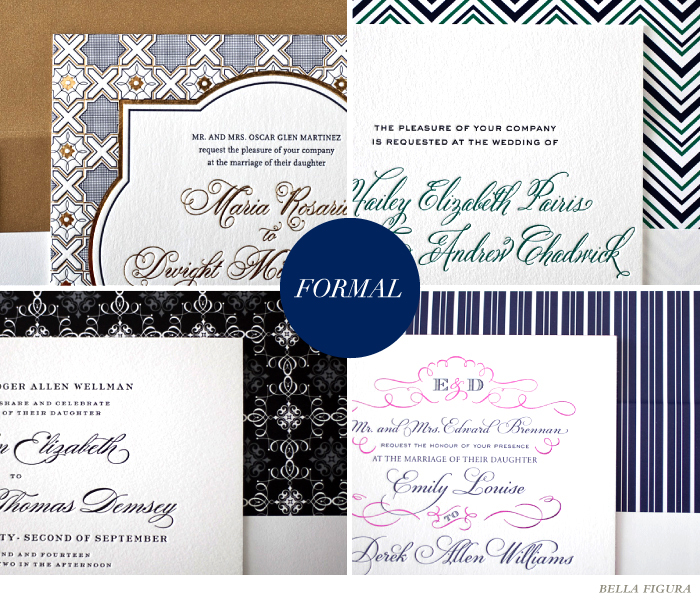 formal wedding font inspiration