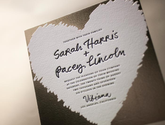 Meet Urbanic, one of Bella Figura's 60 new wedding invitation designs for 2014