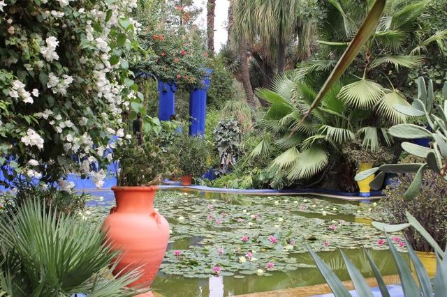 In the Gardens of Yves Saint Laurent   Bella Figura designer travels with Sarah Hanna