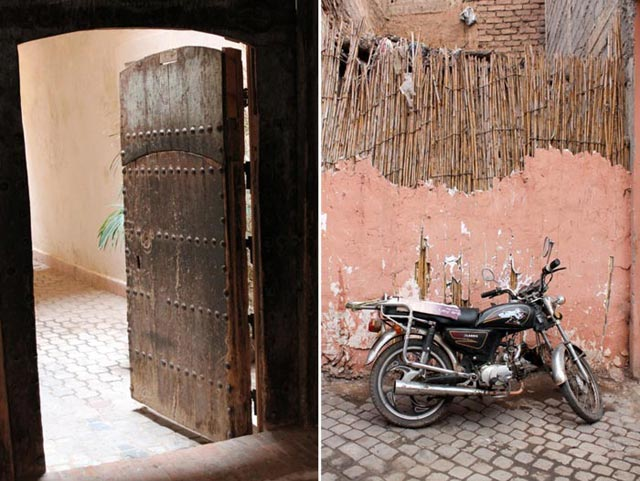 On the streets of Marrakech, Morocco   Bella Figura designer travels with Sarah Hanna
