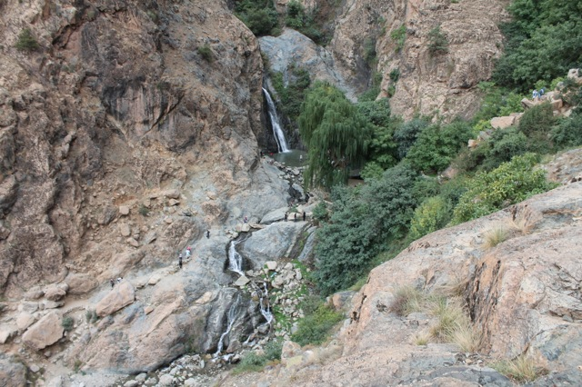 Waterfall in Marrakech, Morocco | Bella Figura designer travels with Sarah Hanna