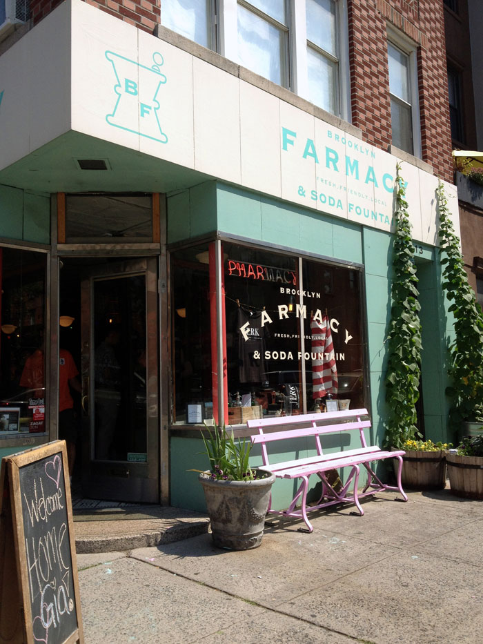 Farmacy | Carroll Gardens, Brooklyn tour with Swiss Cottage Designs