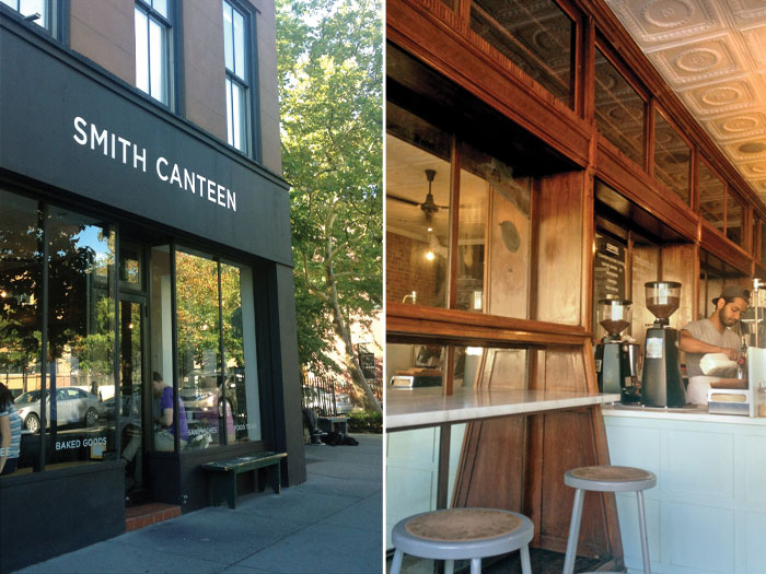 Smith Canteen - Carroll Gardens, Brooklyn tour with Swiss Cottage Designs