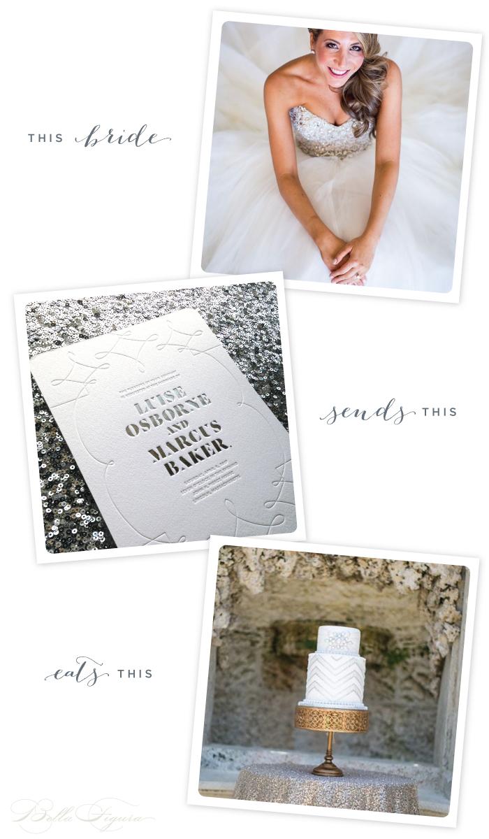 This Bride: Silver Sparkler
