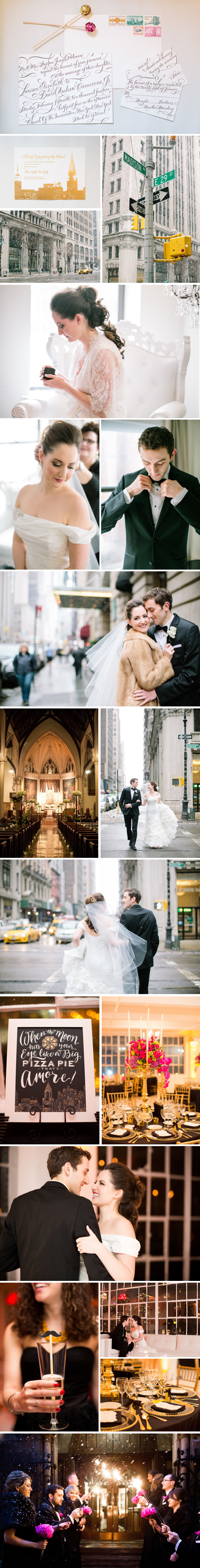 Real Bella Figura Wedding in NYC