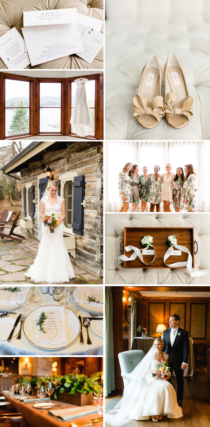 Rustic fall wedding from Bella Figura featuring the Col