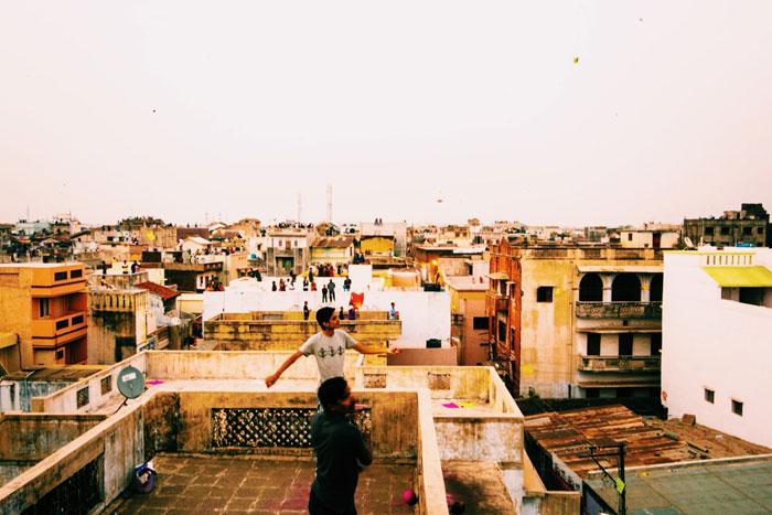 Scenes from the Uttarayan International Kite Festival in Gujarat, India